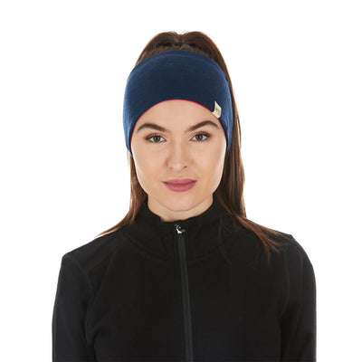 Minus33 Merino Wool Clothing Midweight Wool Reversible Headband