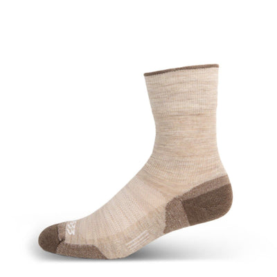 Mountain Heritage Micro Weight Full Cushion Crew Socks Oatmeal