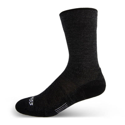 Mountain Heritage Micro Weight Full Cushion Boot 10 Inch Socks Black