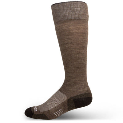 Mountain Heritage Micro Weight Full Cushion Full Length Socks Coffee