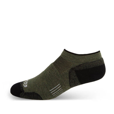Mountain Heritage Lightweight No Show Socks Olive Drab