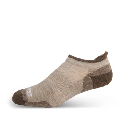 Mountain Heritage Lightweight No Show Tab Socks Oatmeal