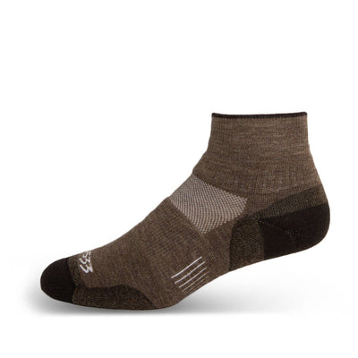 Minus33 Merino Wool Mountain Heritage Ankle Sock Coffee