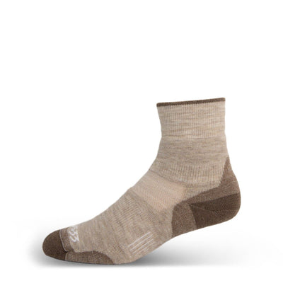 Minus33 Merino Wool Mountain Heritage Lightweight Mini Crew Socks Oatmeal