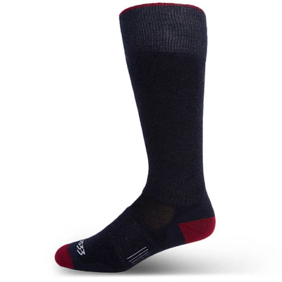 Minus33 Merino Wool Mountain  Heritage Lightweight Full Length Socks Patriot