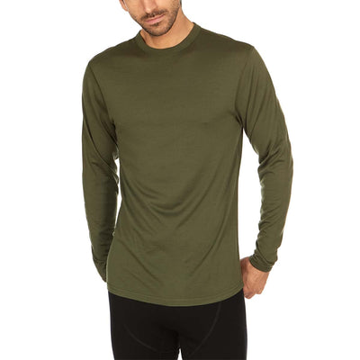 Minus33 Merino Wool Clothing Ticonderoga Men's Lightweight Wool Crew