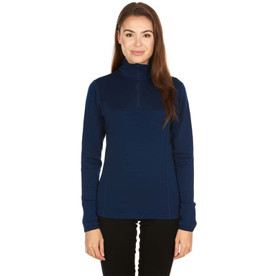 Minus33 Merino Wool Clothing Sequoia Women's Midweight Wool 1/4 Zip