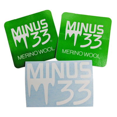 Minus33 Merino Wool Clothing Sticker Pack