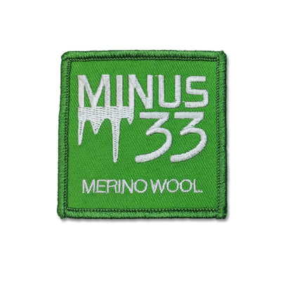 Minus33 Merino Wool Clothing Sew-On Patches