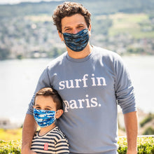 Laden Sie das Bild in den Galerie-Viewer, CamoShark Kids –  Dry-Knit Community-Maske