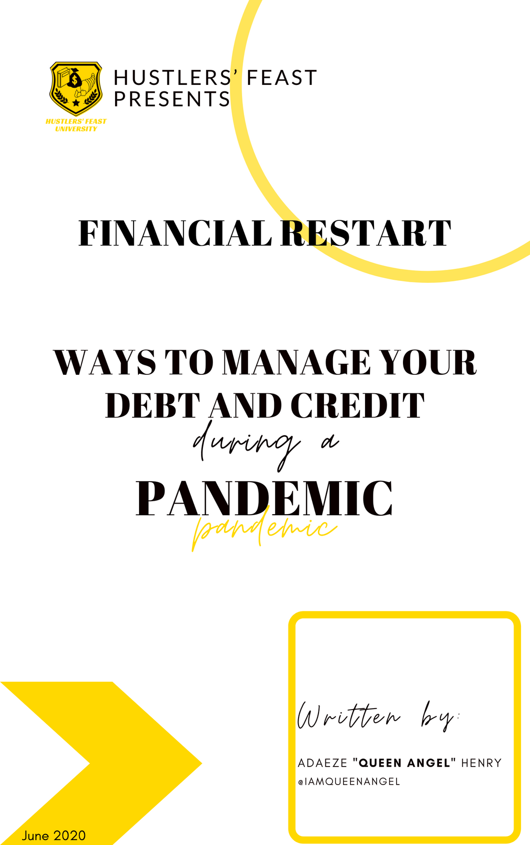 Ways to Manage Your Debt and Credit during a PANDEMIC (Digital Download)