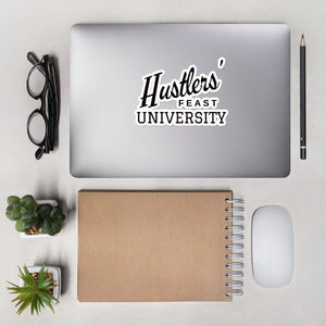 Hustlers' Feast University Bubble-free stickers