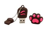Clé USB Patte de Chat Rose