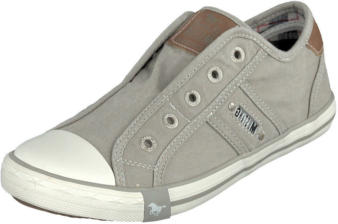 Mustang Ladies/Women 1099-401-933 Light Grey Trainer Shoes