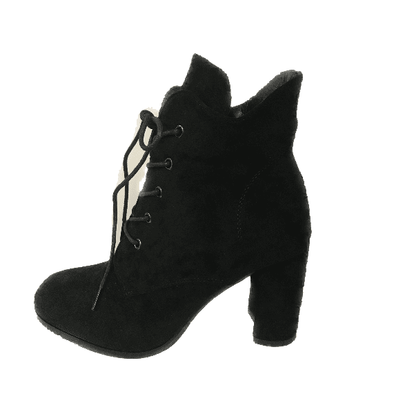 Sponge Glee Lace up Suede High Heel Boot