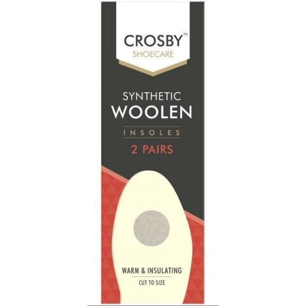 Crosby Shoecare Woolen Insoles - Cut to Size