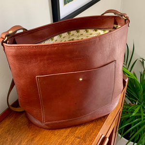 Classic Karoo Farm Box Leather Handbag