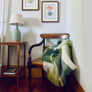Custom Karoo Midlands Mohair Blanket - Travel