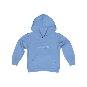 Youth Cyber Heavy Blend Hooded Sweatshirt - TrucksV2