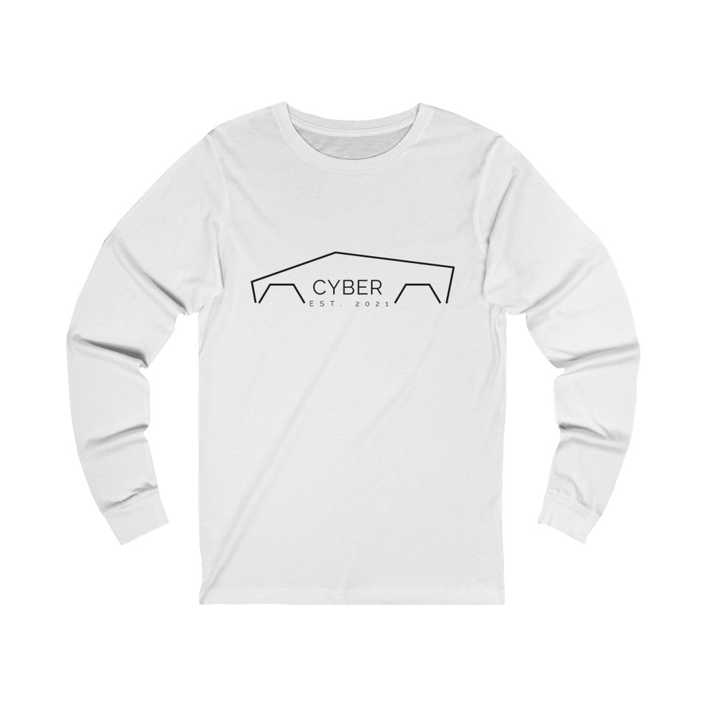 Womens Cyber Long Sleeve Squad Tee