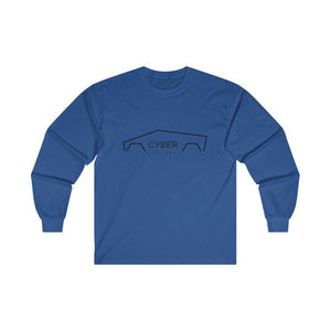 Mens Cyber Long Sleeve Squad Tee