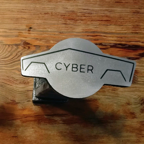 Cyber Truck Hitch Cover - Handmade
