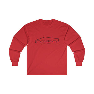 Mens Trucks Long Sleeve Tee