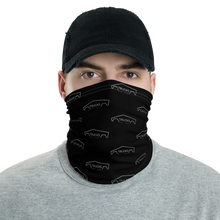 Load image into Gallery viewer, Black Neck Gaiter - Cool Neck Gaiters | Trucks V2