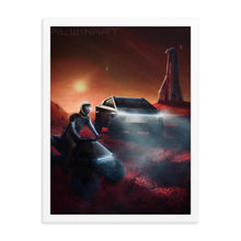 Load image into Gallery viewer, Cyber Mars Framed poster