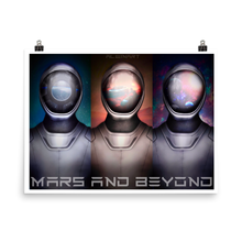 Load image into Gallery viewer, Mars and Beyond Matte Poster