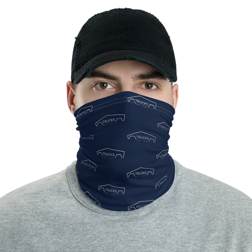 Trucks Neck Gaiter - Navy