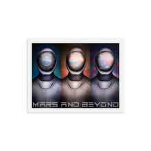 Load image into Gallery viewer, Mars and Beyond Framed poster