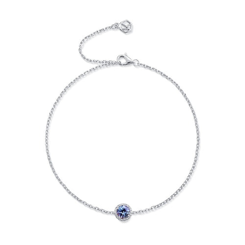 December Birthstone Tanzanite Bracelet