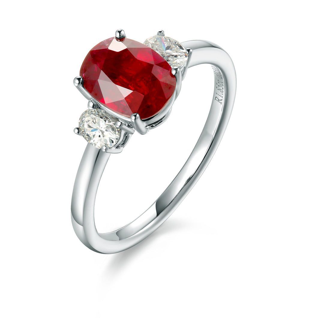 Ruby Ring - 1.85 cts