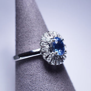 1.354ct Sapphire Ring