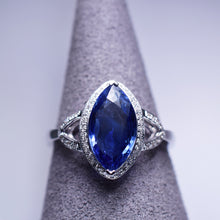 Load image into Gallery viewer, Blue Sapphire Ring - 2.01 cts