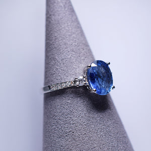 Blue Sapphire Ring - 2.489 cts