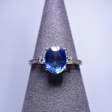 Load image into Gallery viewer, Blue Sapphire Ring - 2.489 cts
