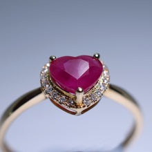 Load image into Gallery viewer, Ruby Ring - 1.032 cts