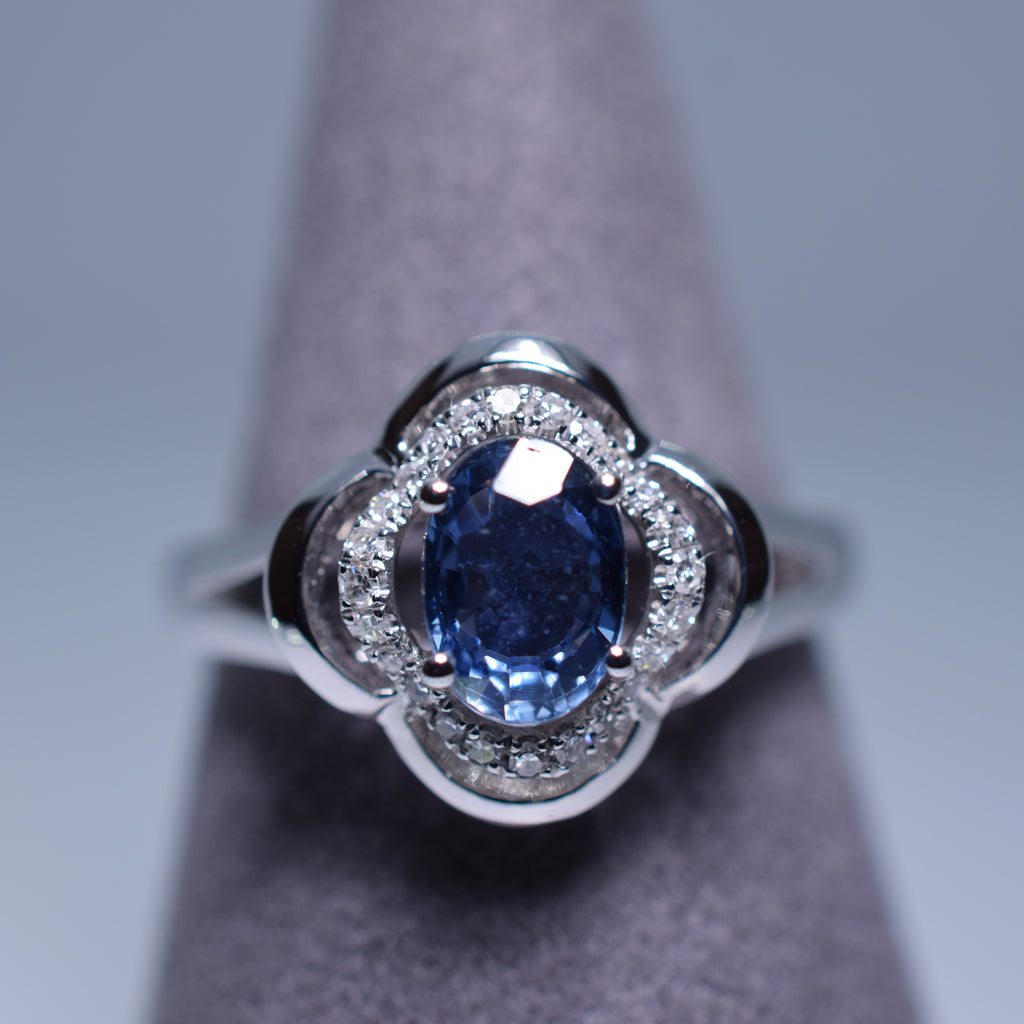 1.133ct Sapphire Ring