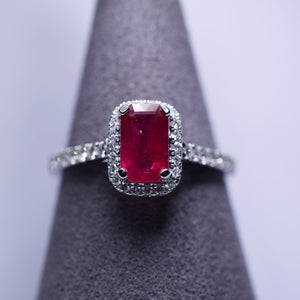 Ruby Ring - 1.005ct