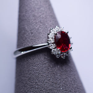 0.635ct Ruby Ring