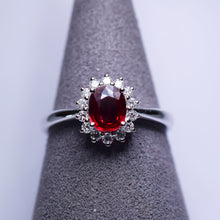 Load image into Gallery viewer, 0.635ct Ruby Ring