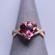 Load image into Gallery viewer, Pink Tourmaline Ring - 3.5 cts