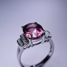 Load image into Gallery viewer, Pink Tourmaline Ring - 4.017 cts