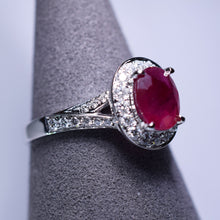 Load image into Gallery viewer, Ruby Ring - 2.01 cts