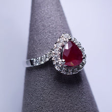 Load image into Gallery viewer, 1.145ct Ruby Ring