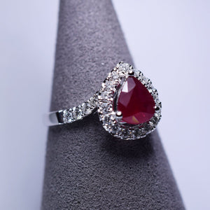 1.145ct Ruby Ring