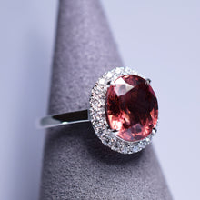 Load image into Gallery viewer, 3.23ct Tourmaline Ring