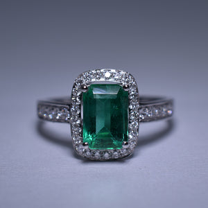 Emerald Ring - 1.56 cts